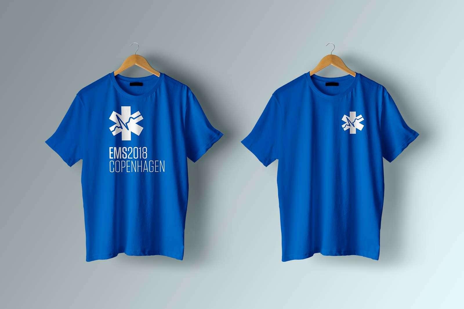 EMS Europe T-shirt design
