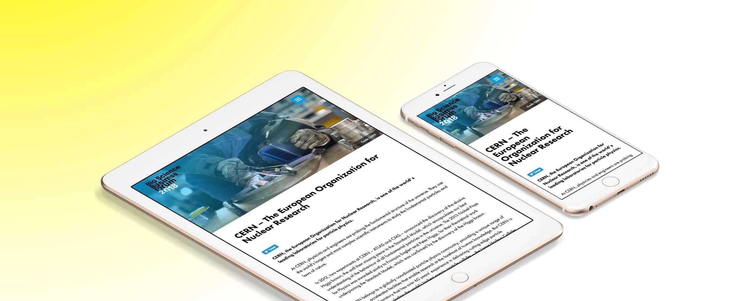 BSBF 2018 iPhone and iPad