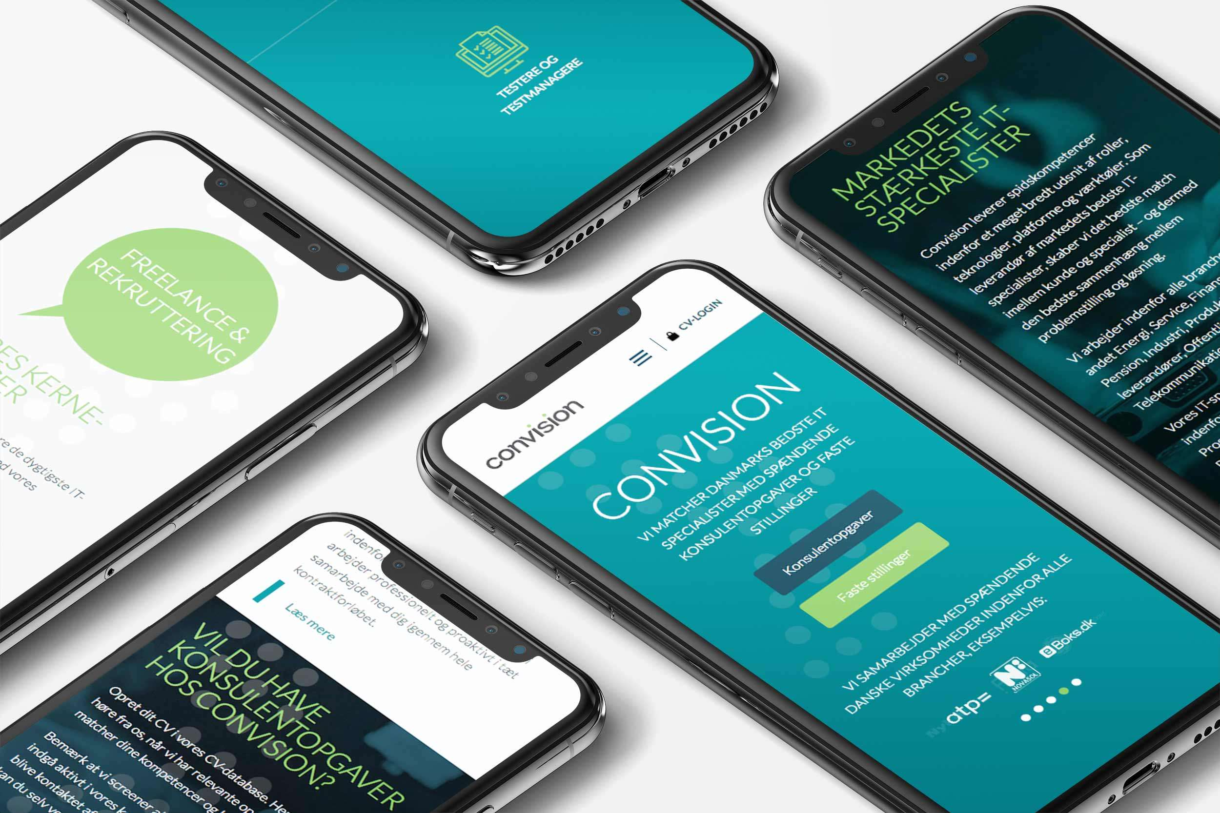 Convision iPhoneX website