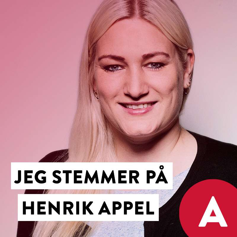 Stem Henrik Appel Social Media image with Camilla Schwalbe