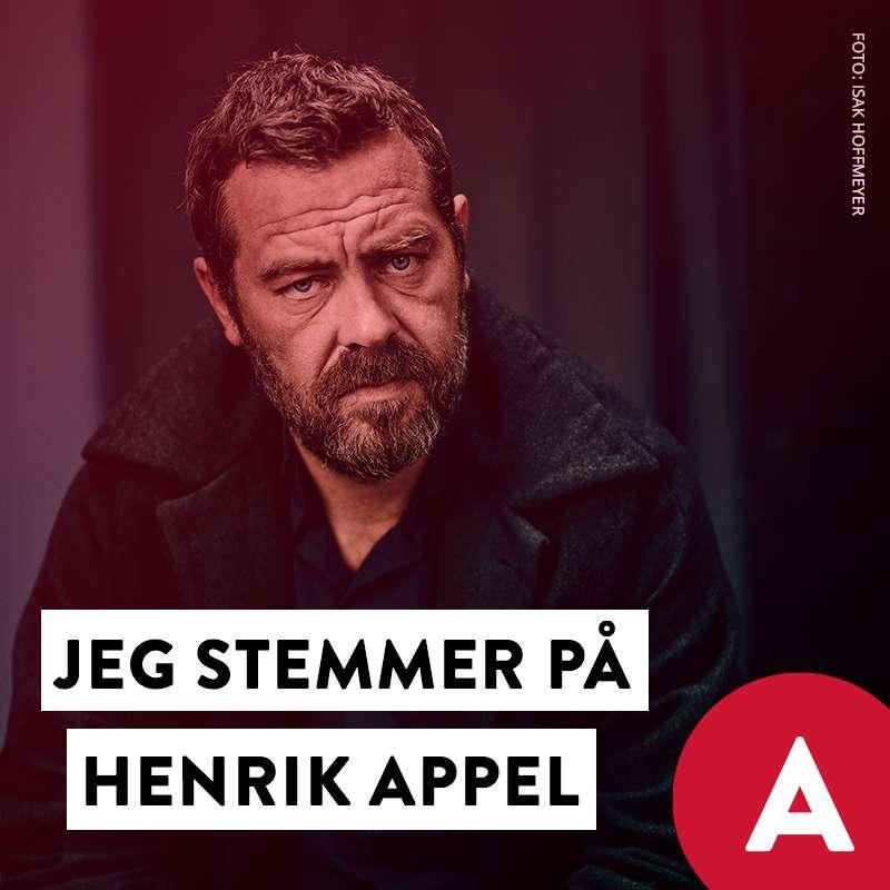 Stem Henrik Appel Social Media image with Kasper Colling Nielsen