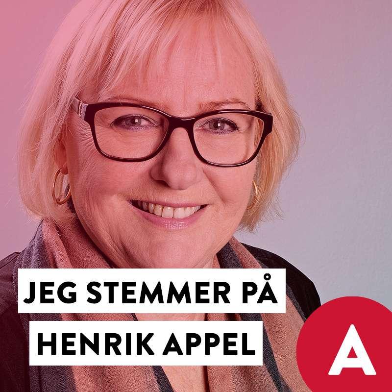 Stem Henrik Appel Social Media image with Kirsten Nissen