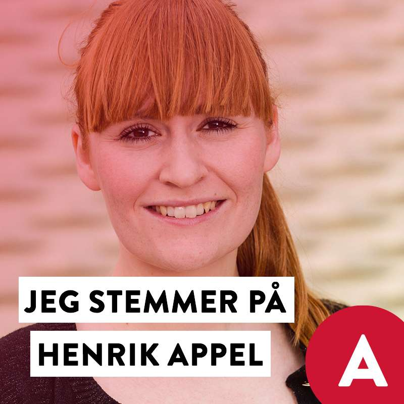 Stem Henrik Appel Social Media image with Mette Lauerberg