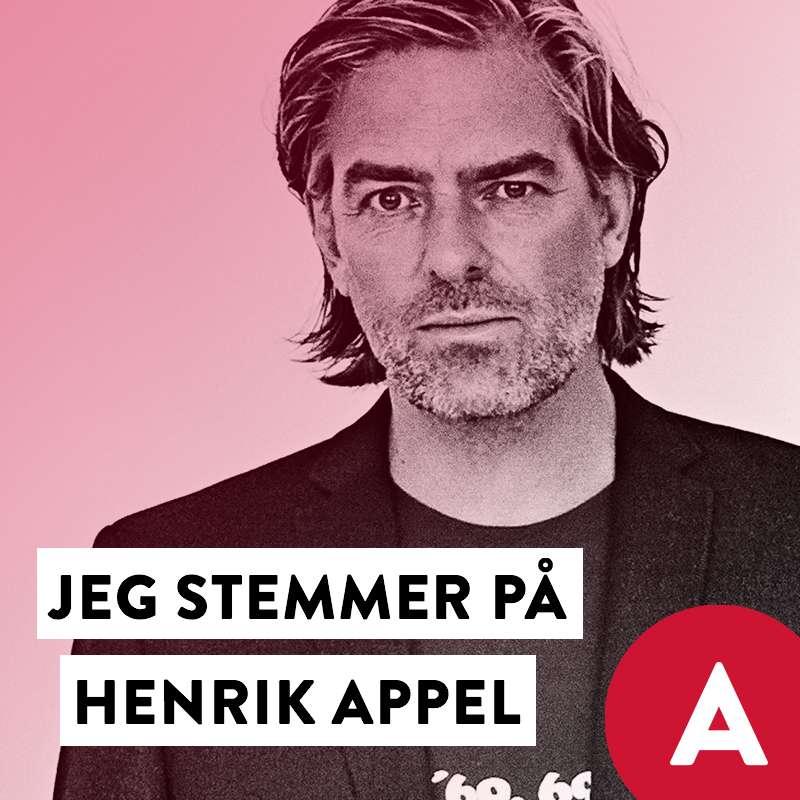 Stem Henrik Appel Social Media image with Peter AG