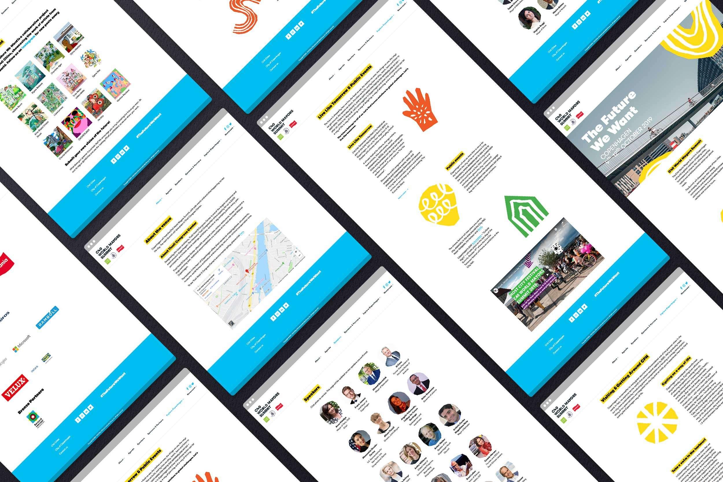 C40 World Mayors Summit, desktop
