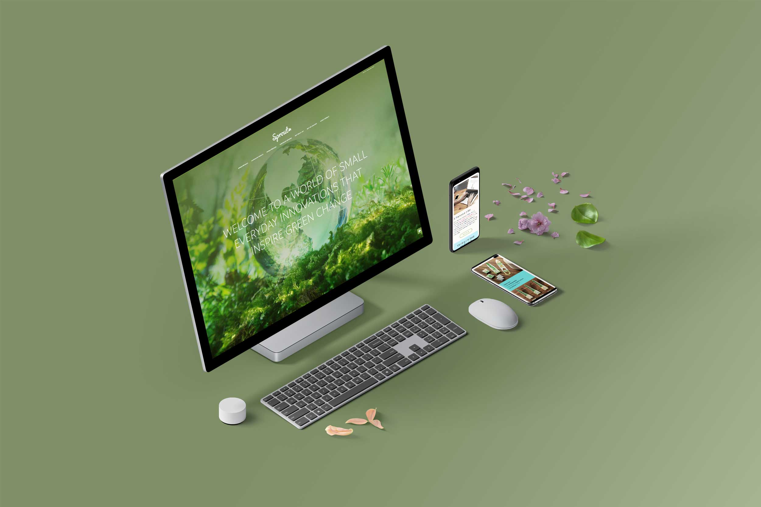 Sprout World Website
